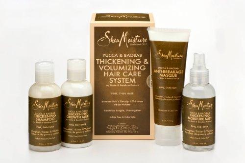 Shea Moisture Yucca & Baobab Thickening & Volumizing Hair Care System