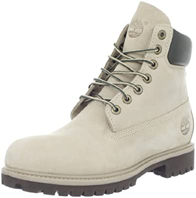 Timberland Men's 6 Inch Premium Boot,Taupe,7.5 W US