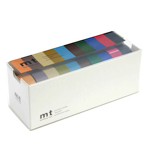mt-washi-masking-tapes-set-of-10-cool-colors-mt10p004-by-mt