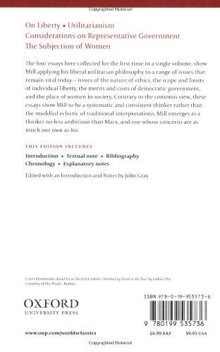 Mill S Essay On Liberty