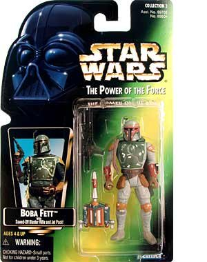 Star Wars The Power of the Force Boba Fett