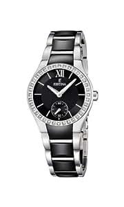 Festina Damen-Armbanduhr XS Analog Quarz verschiedene Materialien F16637/2