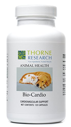 Thorne Research Veterinary - Bio-Cardio - Cardiovascular Support for Small Animals - 120 Capsules