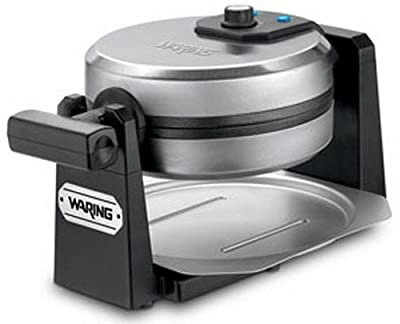 Waring Pro 1000-Watt Stainless Steel/Black Belgian Waffle Maker by Waring Pro