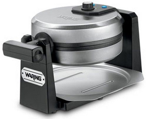 Waring Pro 1000-Watt Stainless Steel/Black Belgian Waffle Maker (Waring Waffle Maker Wmk200 compare prices)