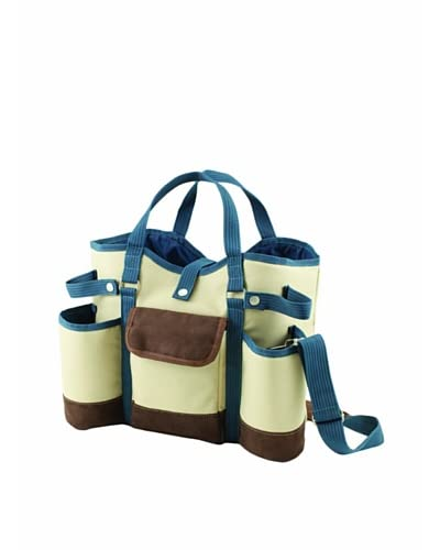 Picnic Time Wine Country Tote with Cheese Service & Corkscrew