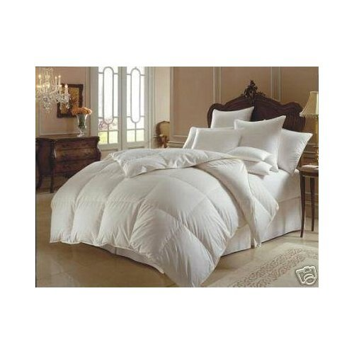 California king size white down alternative comforter