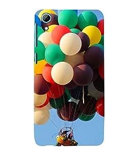 Fuson 3D Designer Back Case Cover For HTC Desire 826
