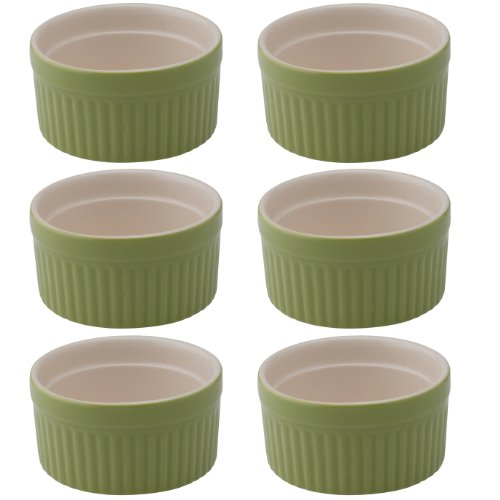 Mrs. Anderson's Round Souffle, Set of 6, 4-ounce (Oven Safe Small Bowls compare prices)