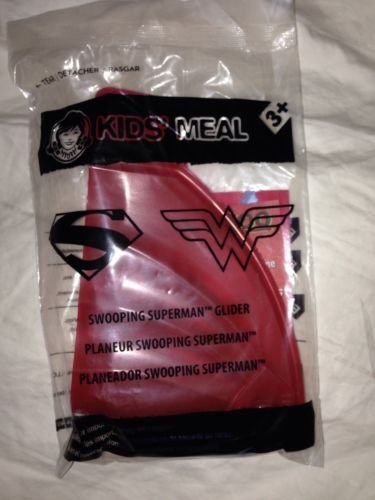 Wendy's Kid's Meal Swooping Superman Glider - 1