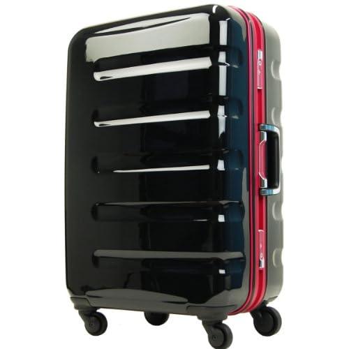 T&S legend walker レジェンドウォーカー スーツケース TSAロック搭載 ポリカーボネート100% キャリーケース 小型 SSサイズ 機内持込サイズ 6016-47 (ブラック・ピンク)