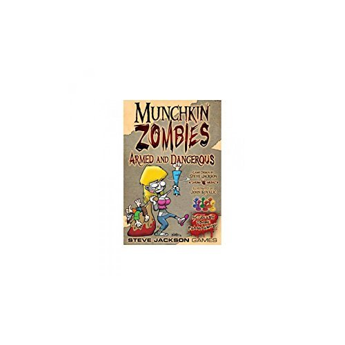 Munchkin Zombies Armed and Dangerous Deluxe