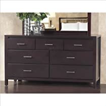 Hot Sale Modus Furniture Nevis 7 Drawer Dresser, Espresso