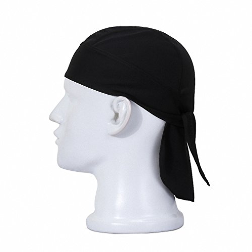 Maoko Sweat Wicking Head Cover Scarf,Skull Cap,Adjustable Hat,Head Wrap,Sweat Beanie- Perfect for Cycling ,Running, Motorcycling (Pittsburgh Pirates Tire Cover compare prices)
