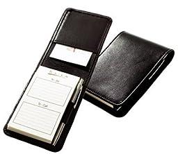 Raika SF 125 BLK Note Taker Case with Pen - Black