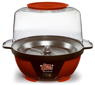 West Bend Dba/Focus Electrics 82505 6QT RED Corn Popper from West Bend Dba/Focus Electrics