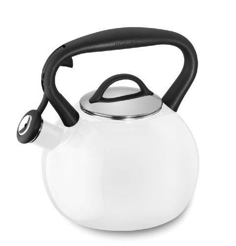 White Enamel Tea Kettle