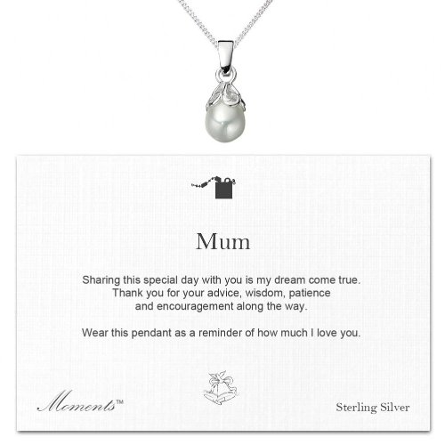 Mother of the Bride / Mum Wedding Day Gift Pearl Necklace by Moments