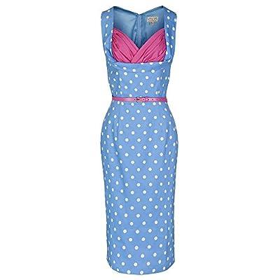 Lindy Bop 'Vanessa' 1950's Inspired Polka Dot Wiggle Dress