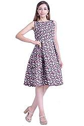 Inblue Fashion Multicoloured Casual Dress For Women