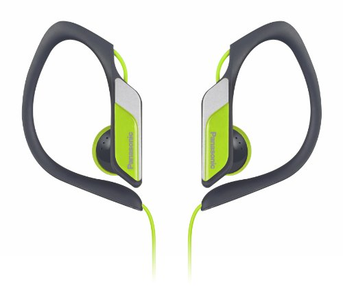 panasonic-sports-clip-earbud-headphones-rp-hs34-y-yellow-water-resistant-tough-durable-adjustable-ea