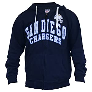 NFL Vintage Look Full Zip Hooded Sweat Shirt Hoodie by NFL