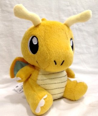 "Pokémon Pokemon Plush Dragonite Doll Around 16cm 6"" Yellow, Free - 1"
