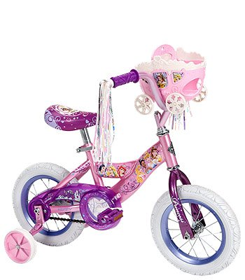 Huffy 16 inch Bike - Girls - Disney Princess with Carriage