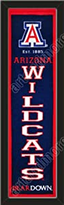 Heritage Banner Of Arizona Wildcats-Framed Awesome & Beautiful-Must For A... by Art and More, Davenport, IA