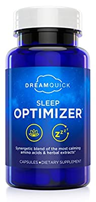 DreamQuick Sleep Optimizer | Clinically Developed by Leading German Sleep Researchers | Number 1 Doctor-Recommended Sleep Aid in Germany | 56 Capsules