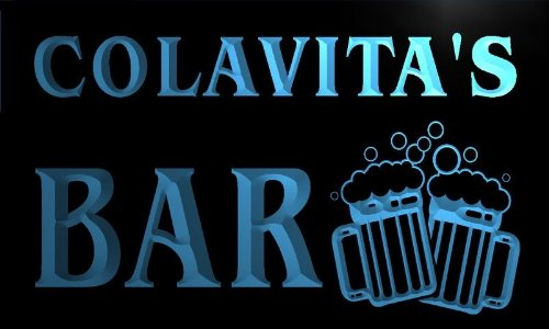 w053071-b-colavita-name-home-bar-pub-beer-mugs-cheers-neon-light-sign