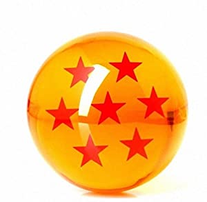 Acrylic Dragonball Replica Ball (Large/76MM) (Large/7 stars)
