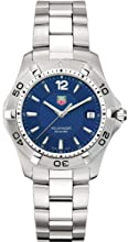 TAG Heuer Men s WAF1113 BA0801 2000 Aquaracer Quartz Watch