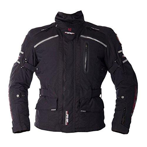 Wolf titane 3/4 2100 Textile moto Jacket Black