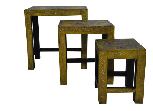 Art Deco Stool front-1065152