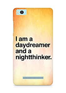 AMEZ daydreamer and night thinker Back Cover For Xiaomi Mi5
