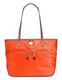 MICHAEL Michael Kors Kempton Nylon Medium Pocket Tote, Clementine