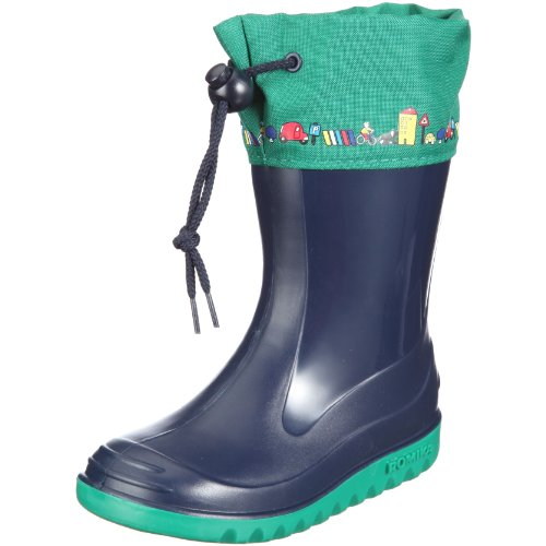 Romika Jerry Rubber Boots Unisex-Child Blue Blau (marine-jade 587) Size: 21