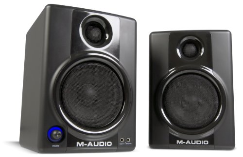 M-Audio Studiophile AV 40 Version II UK Monitor Speakers for Professional Quality Media Creation