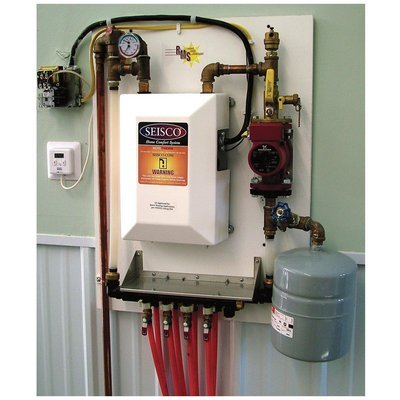 - Radiant Made Simple Radiant Heat System - 11kW, 37,540 BTU Boiler, 230V, 60 Amp, Model# RMS-11 (Floor Heat Boiler compare prices)
