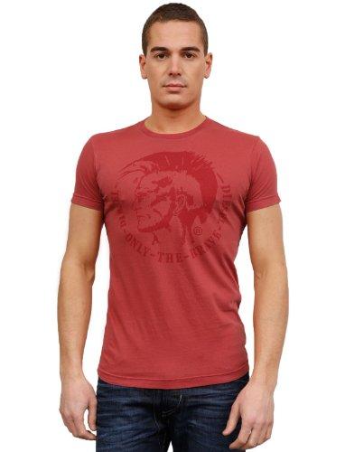 Diesel T-nana 468 Flare Red Man T-shirts Make Men - M