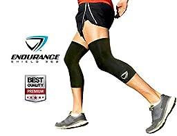 Compression Knee Sleeve (2 pcs) - Large
