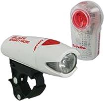 Planet Bike Blaze 2 Watt Micro Headlight and Superflash Turbo Tail Light, White