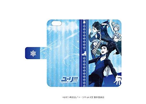 手帳型スマホケース iPhone6/6S専用 ユーリ!!! on ICE 01 ティザービジュアル