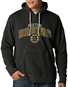 NHL Boston Bruins Slugger Pullover Hoodie Jacket, Charcoal by