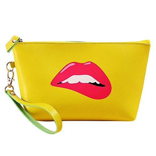 Contever® Fashion PU Sacchetto Lavata Cosmetic Borsa Cosmetico Wash Bagda Toilette Borsetta da Viaggio per le Donne la Signora Girl - Style 5