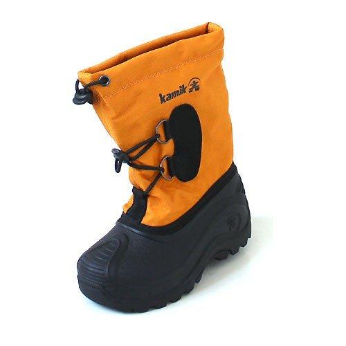 KamikSOUTHPOLE3 - Stivali a metà gamba con imbottitura pesante  Unisex - Bambini , Arancione (Orange (MAN-MANGO)), 35 EU