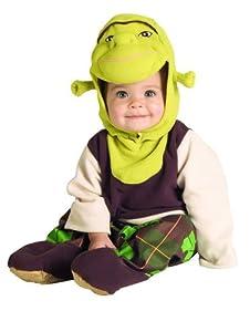 Shrek Shrek Romper Costume Newborn