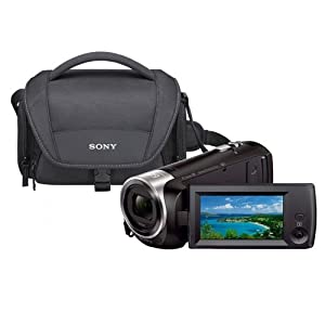 Sony HDR-CX440 Handycam Camcorder 8GB Full HD 1080 60P 26.8mm ZEISS Lens - Wi-Fi