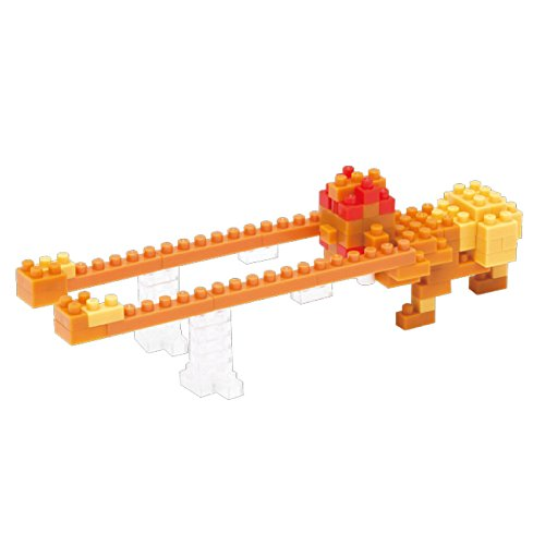 Kawada NanoBlock - NBCC-016 - Street Fighter II Dhalsim Heavy Punch Micro Block Mini Puzzle (90 Piece) - 1